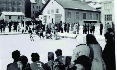 Patinoire du Sentier 1946-47