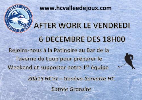 after work à la patinoire